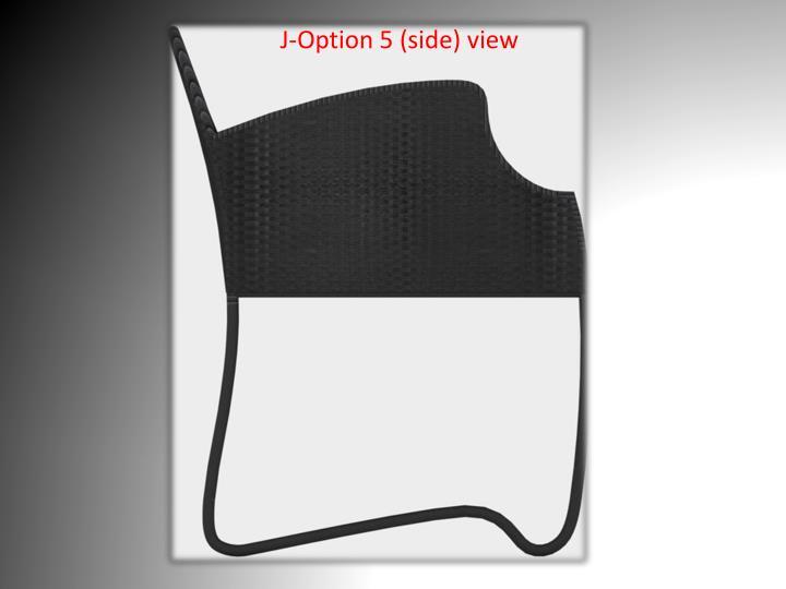 J-Option 5 (side) view