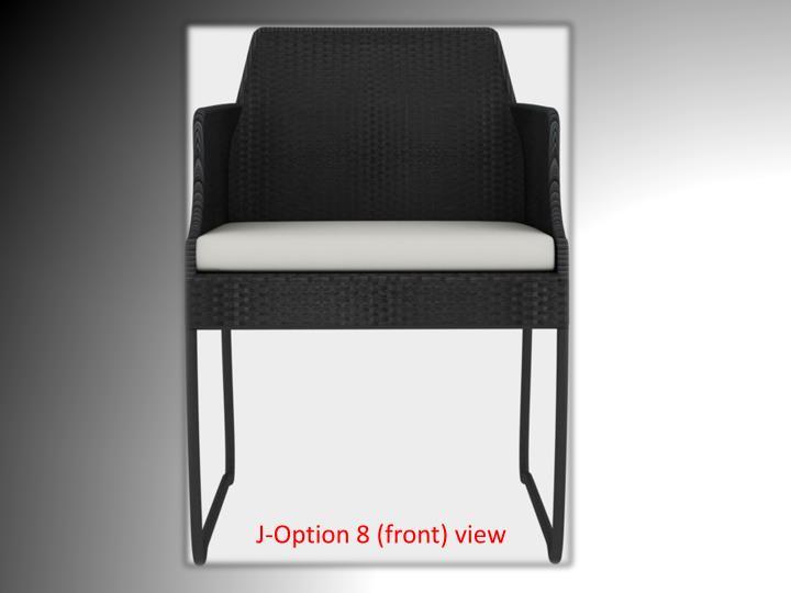 J-Option 8 (front) view
