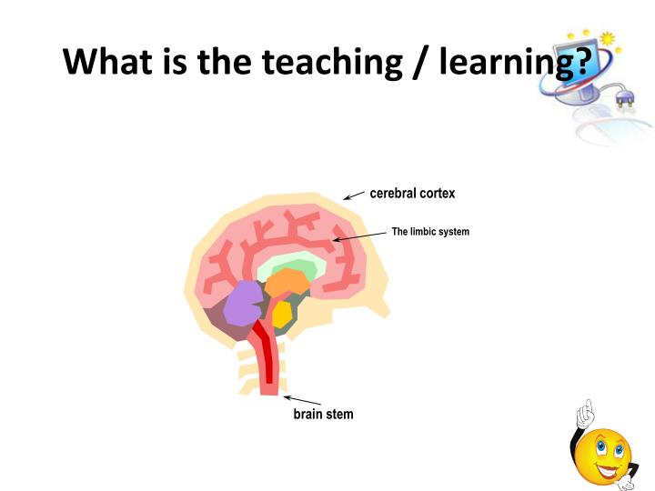 What is the teaching / learning?