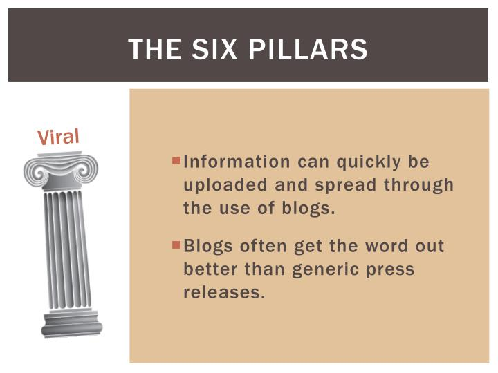 The Six Pillars