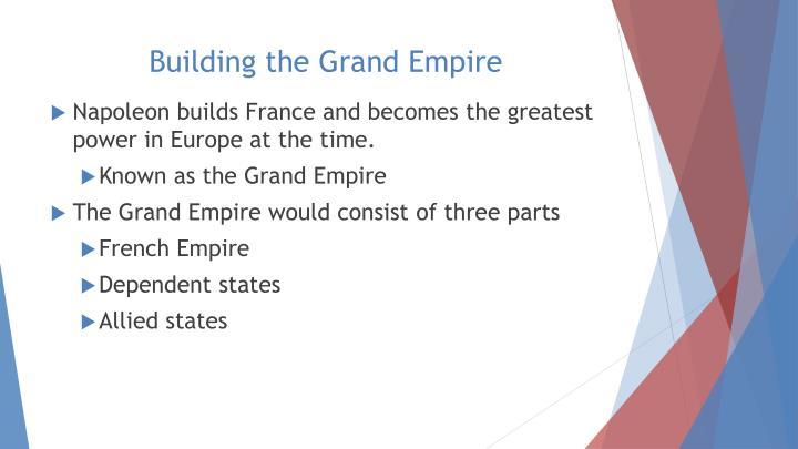 Building the Grand Empire