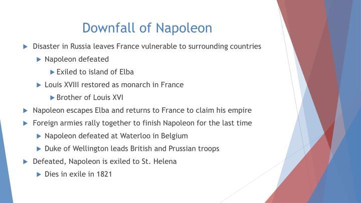 Downfall of Napoleon