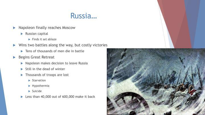Russia…