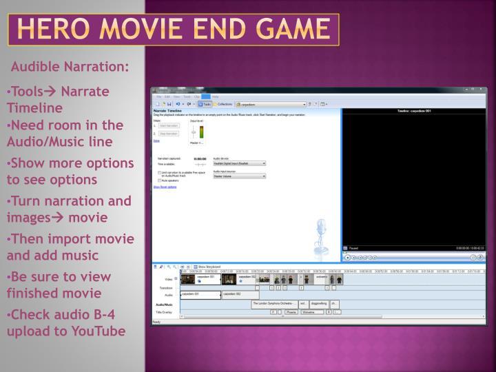 Hero movie end game1