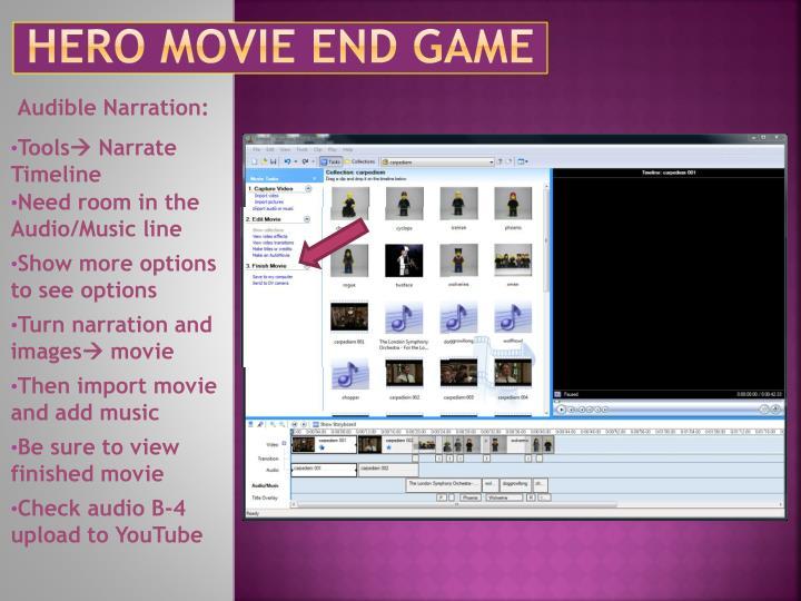 Hero movie end game2