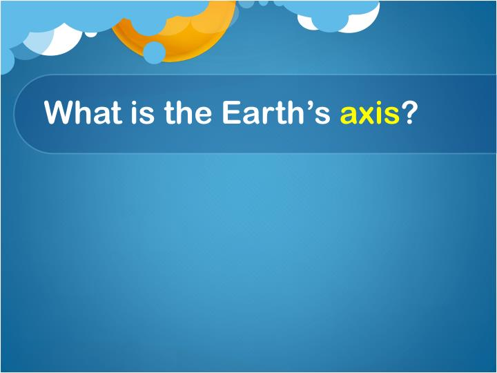 What is the Earth's