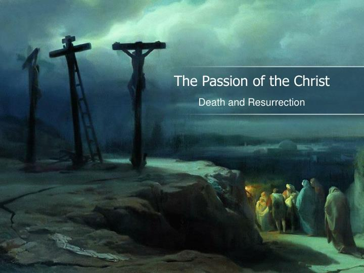 the passion of the christ n.