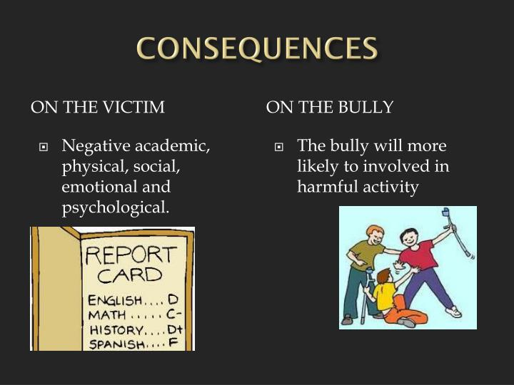 the emotional and physical aspects of bullying Emotional violence  physical violence occurs when someone uses a part of their body or an object to control a person's actions physical violence includes, but.