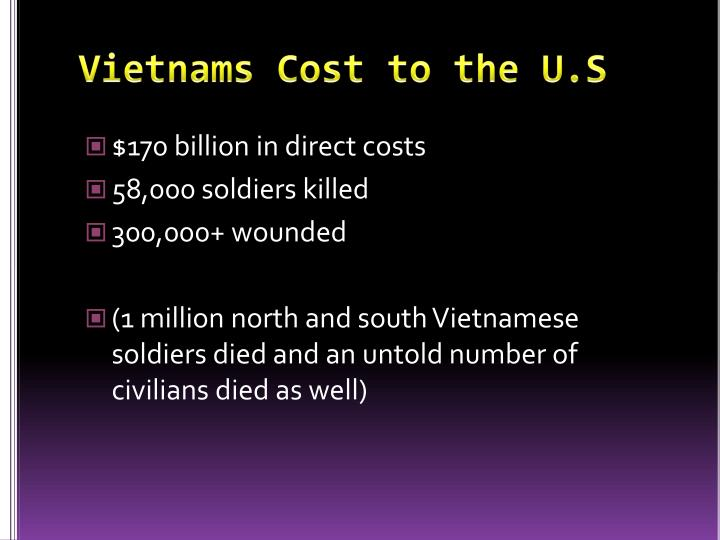Vietnams Cost to the U.S