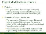 project modifications cont d3