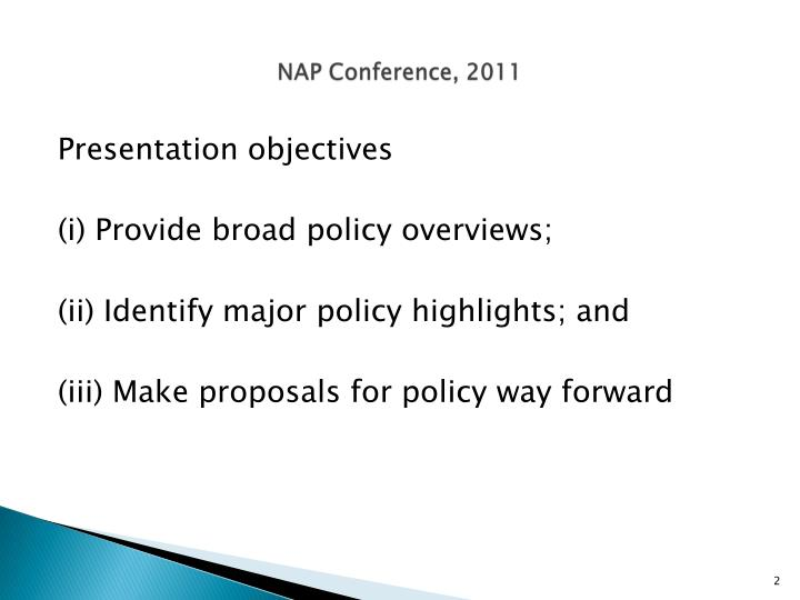Nap conference 2011