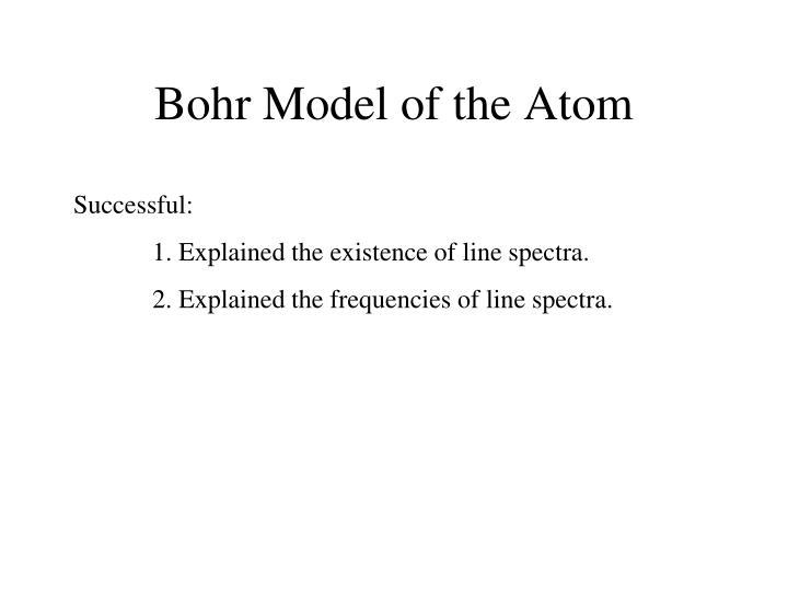 Bohr Model of the Atom