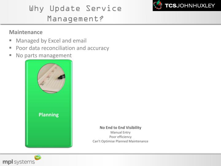 Why Update Service Management?