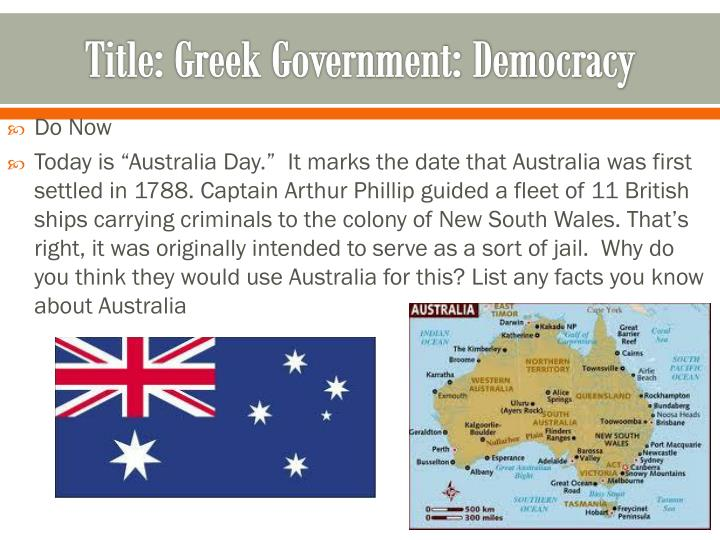 title greek government democracy n.