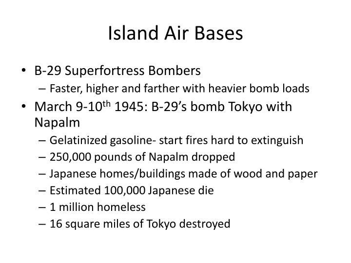Island Air Bases