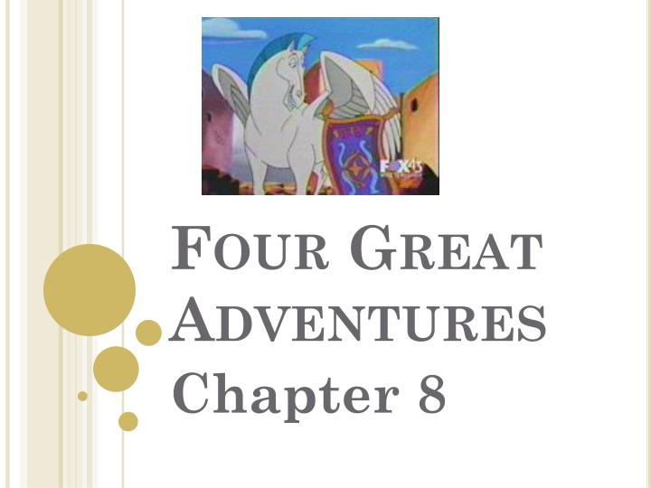 four great adventures n.