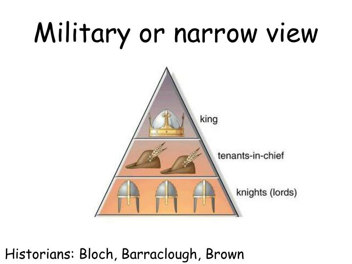 Military or narrow view