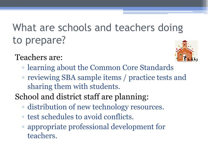 What are schools and teachers doing to prepare?