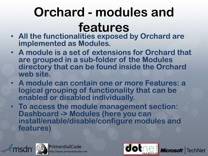 Orchard -