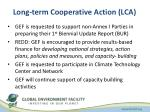 long term cooperative action lca