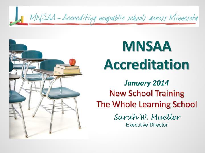 MNSAA Accreditation