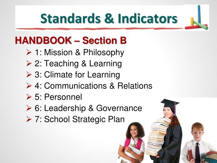 Standards & Indicators