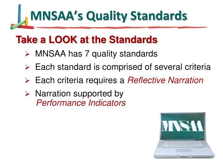MNSAA's