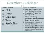 december 11 bellringer