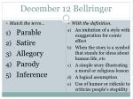 december 12 bellringer