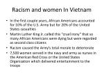 racism and women in vietnam