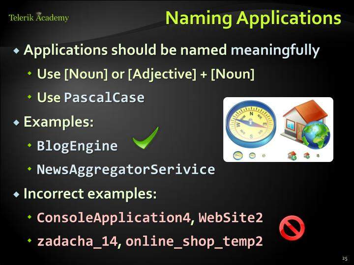 Naming Applications