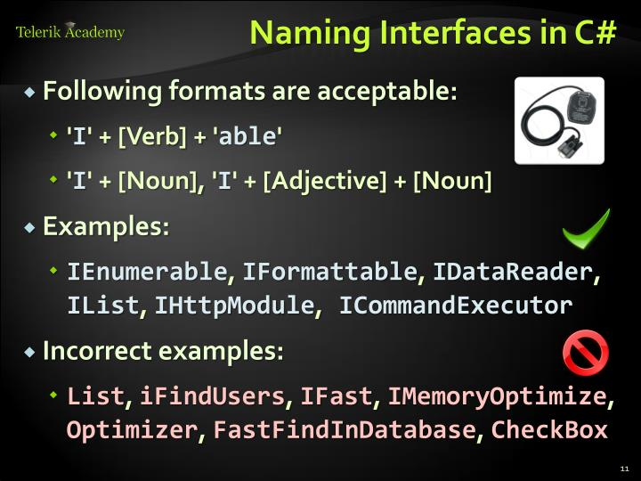 Naming Interfaces in C#