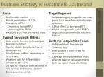 business strategy of vodafone o2 ireland