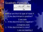 quadratic formula2