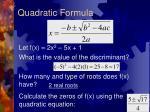 quadratic formula3