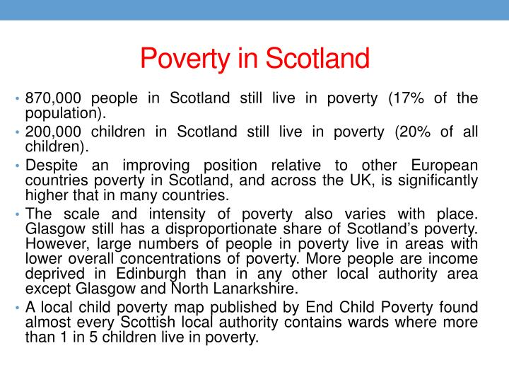 Poverty in Scotland