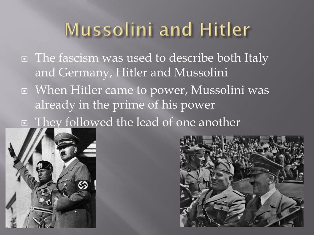 PPT - Benito Mussolini PowerPoint Presentation, free ...