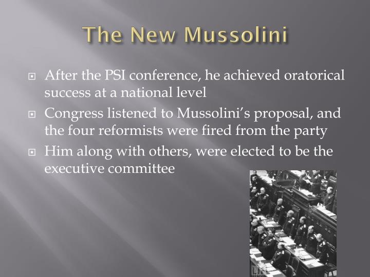 The New Mussolini