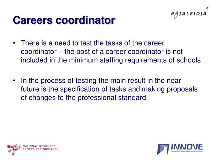Careers coordinator