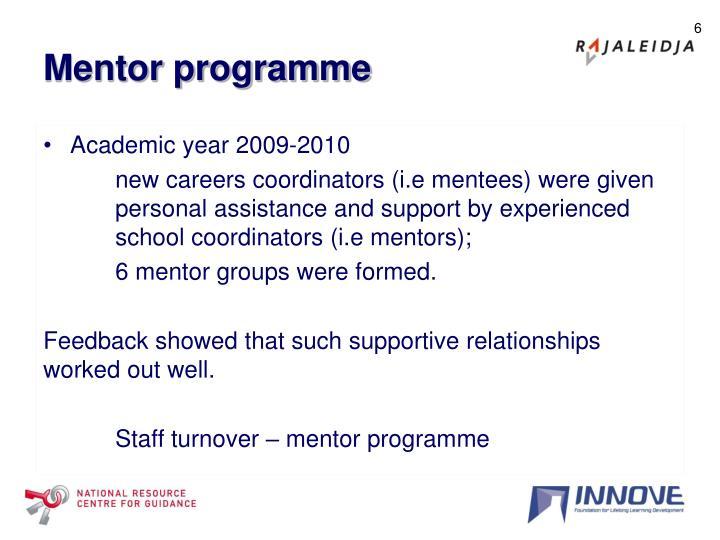 Mentor programme