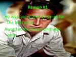 reason 13
