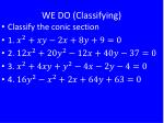 we do classifying1