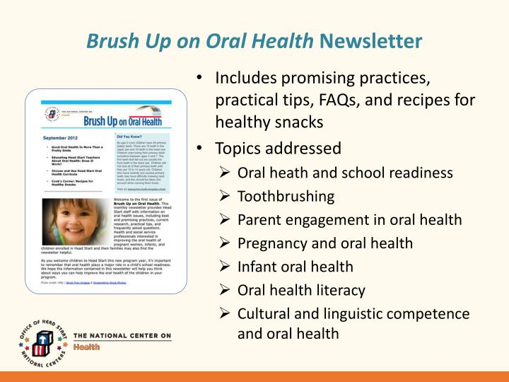 Brush Up on Oral