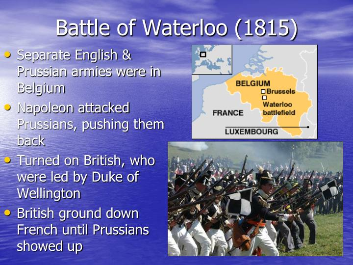 Battle of Waterloo (1815)