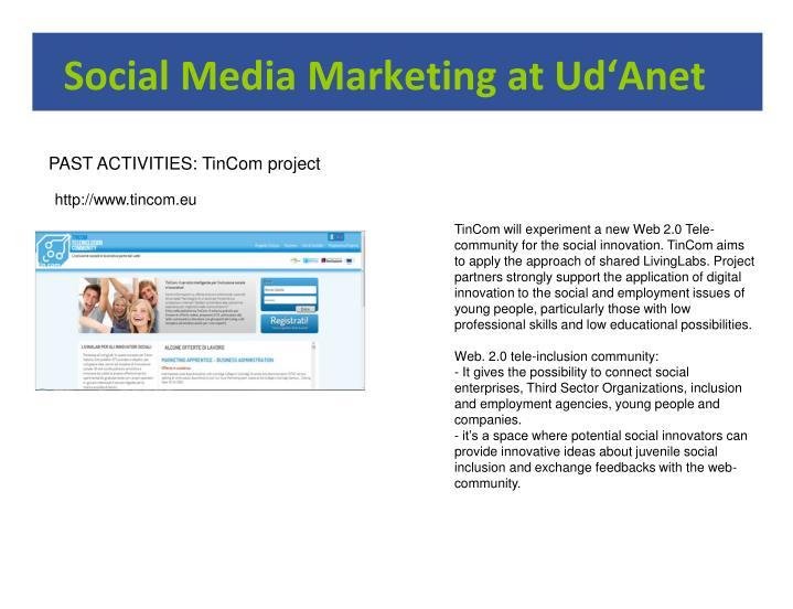 Social media marketing at ud anet2