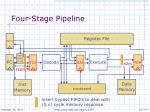 four stage pipeline