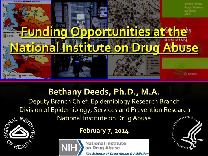 funding opportunities at the national institute on drug abuse n.