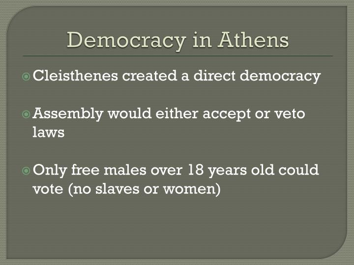 Democracy in athens1