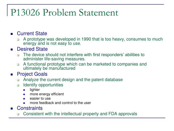 P13026 Problem Statement