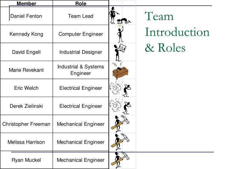 Team Introduction
